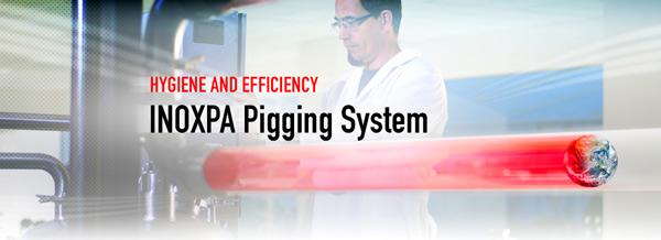 PIGGING SYSTEM, máxima higiene e eficácia