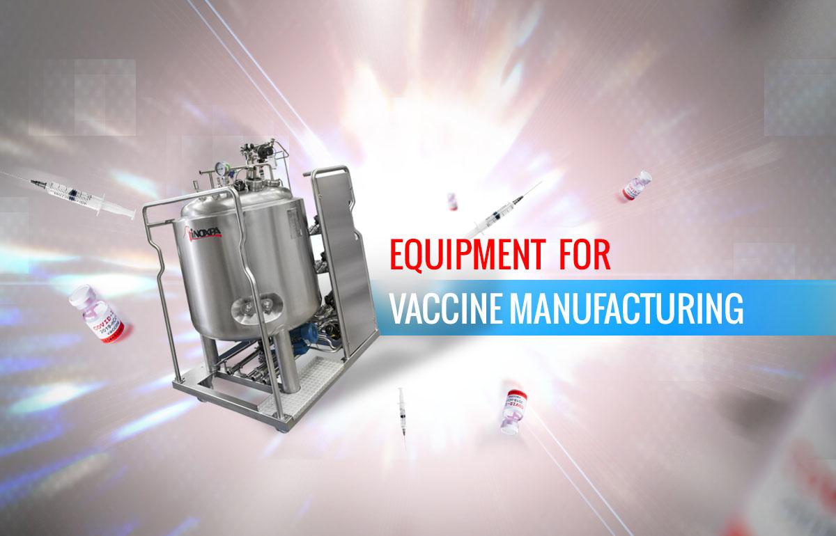 Equipamentos para produção de vacinas